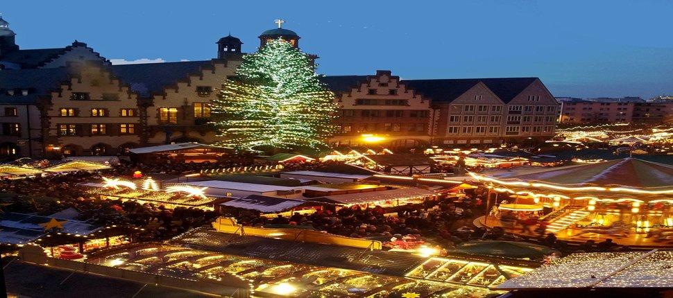 Mercadillo de Navidad Frankfurt - Puente de Diciembre
